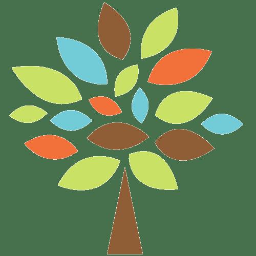 Persbergs friskolas logotyp träd